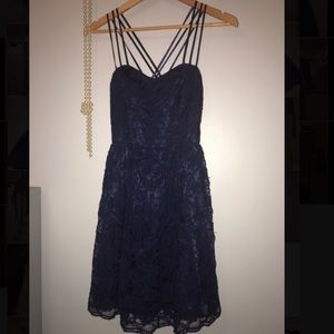 Windsor size 9/10 blue dress with lace